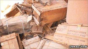 rebels have thousands of Belgium plastic land mines
