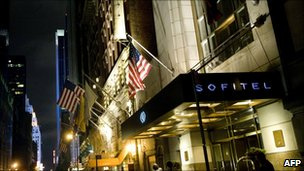 Sofitel hotel, New York (15 May 2011)