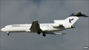 An Iran Air jet in a file photo