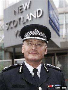 Met Commissioner Sir Paul Stephenson