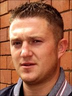 Stephen Lennon, leader of the English Defence League