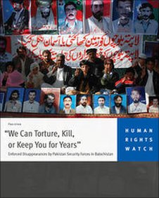 Cover of HRW report