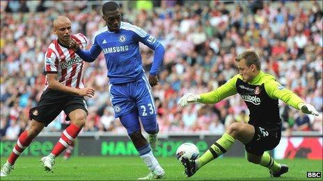 Sturridge coolly backheels Chelsea's second past Simon Mignolet