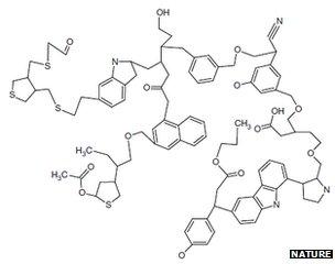 Proposed complex molecule