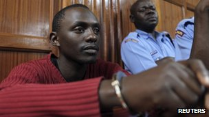 Elgiva Bwire Oliacha in court