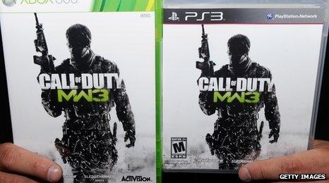 Copies of CoD: MW3
