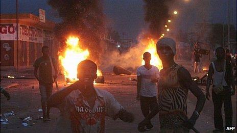 Unrest in Kinshasa. 9 Dec 2011