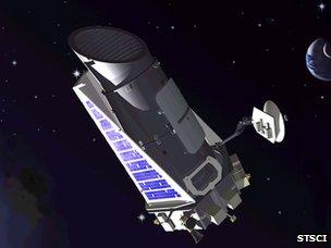 Kepler artist impression (STSCI)