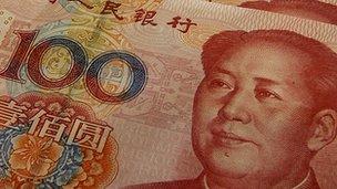 100 Yuan note