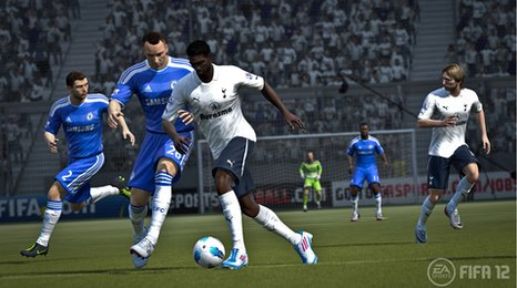 Screen shot of Fifa 2012