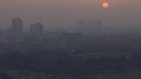 Karachi sunrise