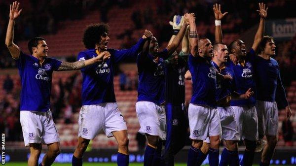 BBC Sport - Sunderland 0-2 Everton
