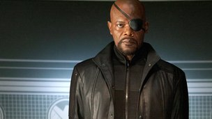 Samuel L Jackson in Avengers Assemble