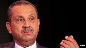 Former Libya minister Shukri Ghanem in central London in October 2009.