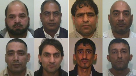Defendants in Rochdale grooming trial