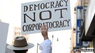 Occupy protester