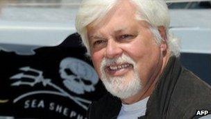 Founder of anti-whaling group Sea Shepherd Paul Watson (file)