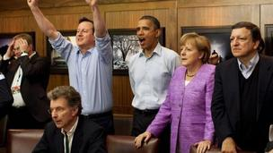 G8 conference when Chelsea win