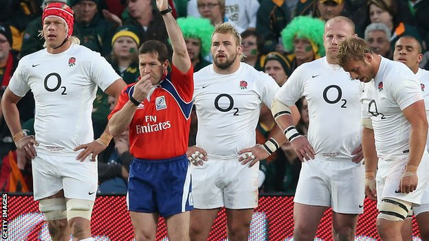 England players disconsolate