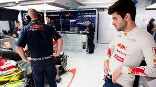 Former Toro Rosso driver Jaime Alguersuari