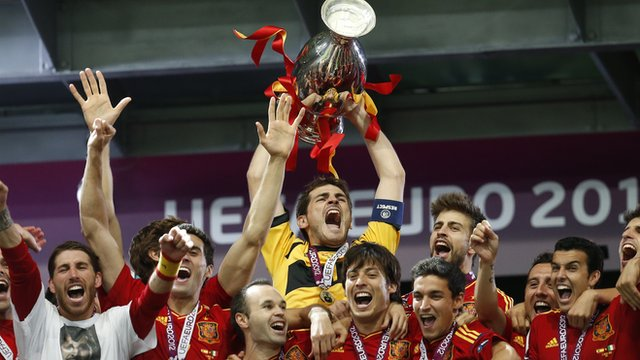 Spain wins Euro 2012- Nader Nazemi
