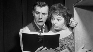 Eric Sykes and Hattie Jacques in 1962