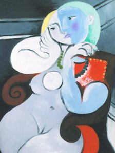 Nude Woman in a Red Armchair, 1932