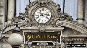 Unicredit headquarters in Milan