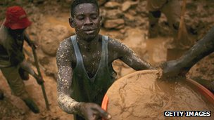 Miner in DR Congo