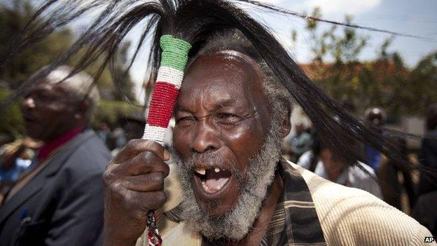 Kenyan Mau Mau veteran (© 2012 AP)