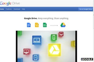 Google Drive screenshot