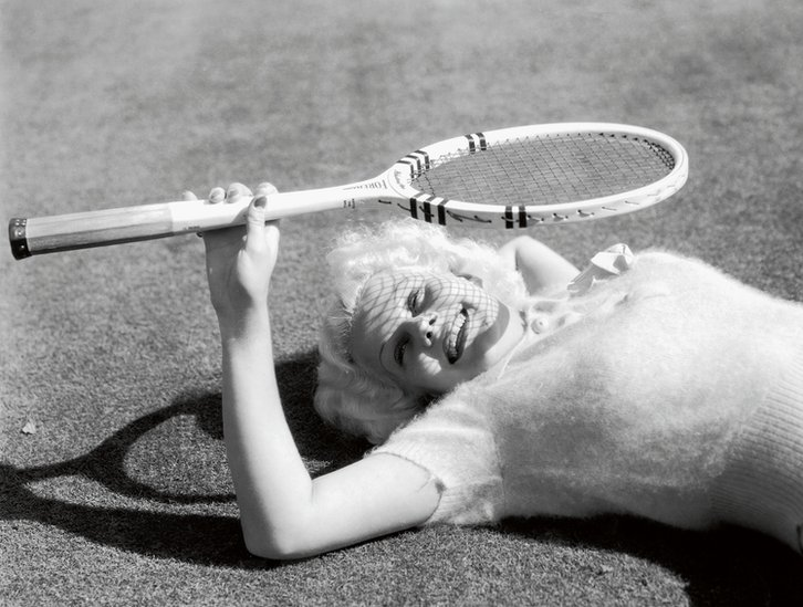Jean Harlow, MGM, 1934 (Photo by Virgil Apger)
