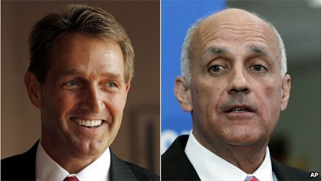 Jeff Flake and Richard Carmona from BBC