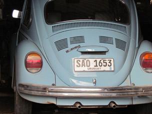 President Mujica's VW Beetle