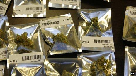 Marijuana in baggies in Seattle