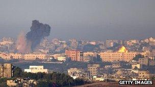 Israeli air strike on Gaza, 15 November