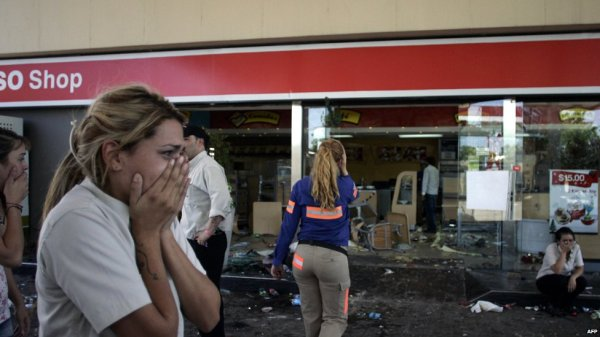 BBC News - In pictures: Argentina looting