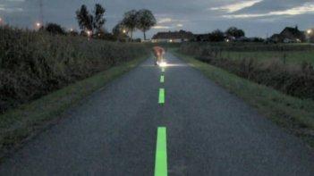 dynamic road markings