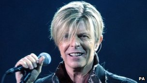David Bowie, pictured in 2003