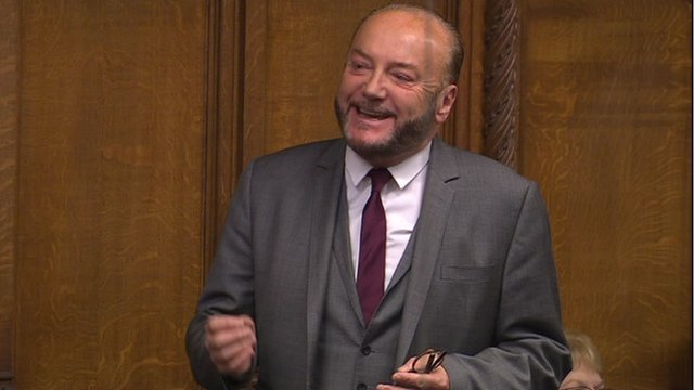 Collectors's item: George Galloway speaking in parliament