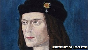The earliest surviving portrait of Richard III in Leicester Cathedral