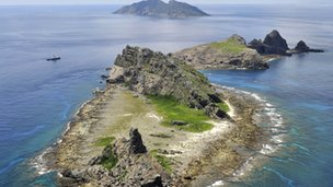 The dispute over the islands called Senkaku in Japan and Diaoyu in China often sparks diplomatic tensions