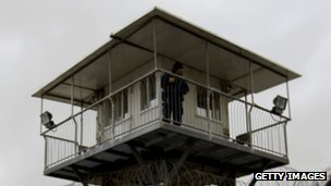 Ayalon prison watchtower