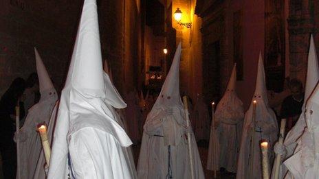 Holy Week in Arcos de la Frontera, Spain
