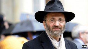 El ex gran rabino de Francia Gilles Bernheim (imagen de archivo)