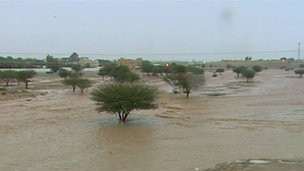 Floods in Saudi Arabia