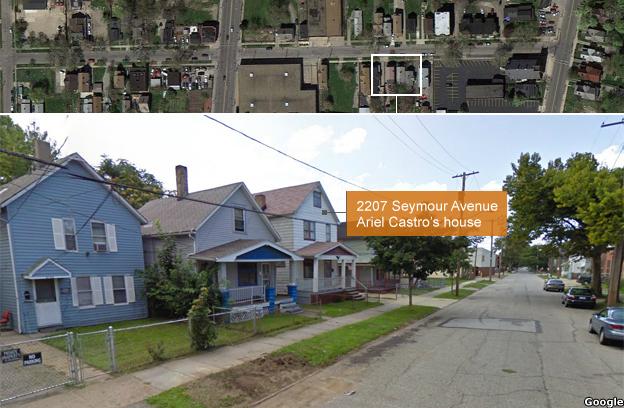 A view of Seymour Avenue
