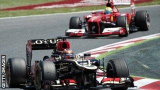 Raikkonen and Massa