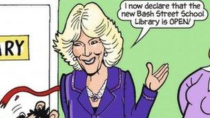 Camilla cartoon