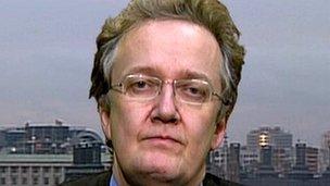 Chief Inspector of Prisons Nick Hardwick